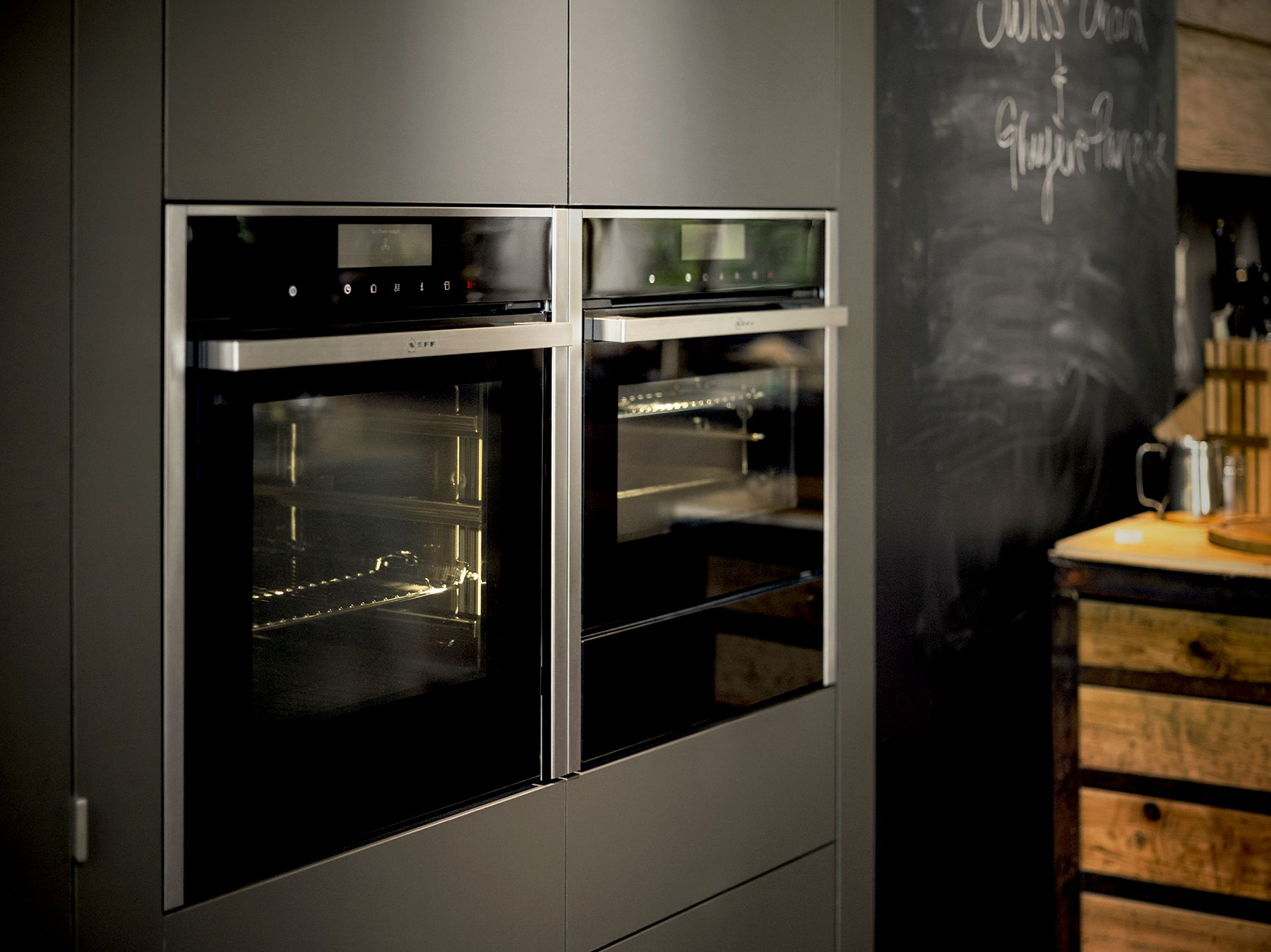 Neff and Bosch Ovens